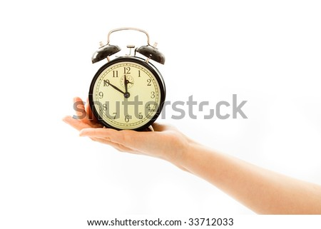 In Time - stock photo