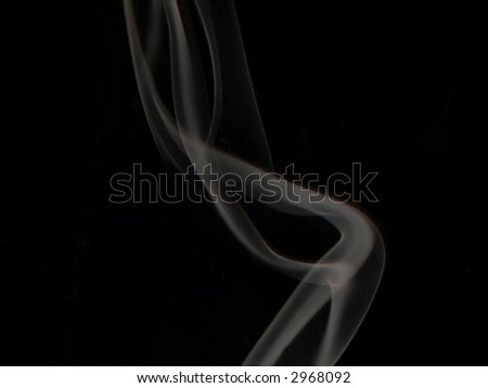 incense plume
