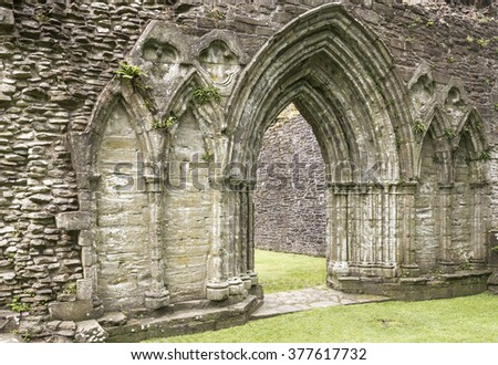 inchmahome priory - stock photo