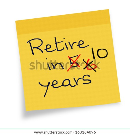 Increase retirement age note