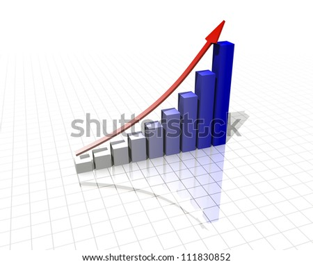 Increase: the income, production, the capital, the population, the prices, discounts, sales, purchases etc.