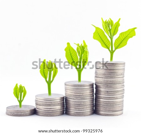 Increase your savings - stock photo
