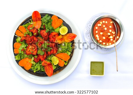 India curry set - stock photo