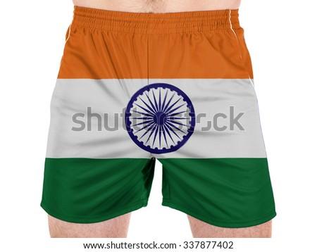 India. Indian flag  - stock photo