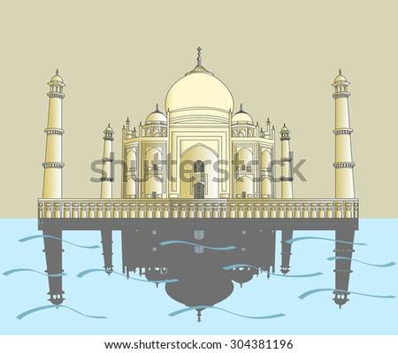 India, Taj Mahal, Indian palace, Taj mahal world landmark. India, Taj Mahal, India, Taj Mahal, India, Taj Mahal, India, Taj Mahal, India, Taj Mahal, India, Taj Mahal, India, Taj Mahal, India - stock photo