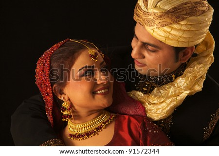 IndIan family - stock photo