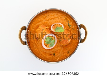 Indian food specialties. Indian dish- Malai Kofta or Veg Kofta. - stock photo