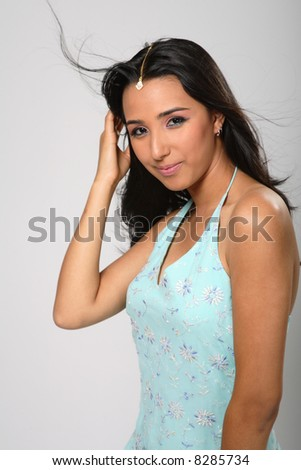 Indian girl - stock photo