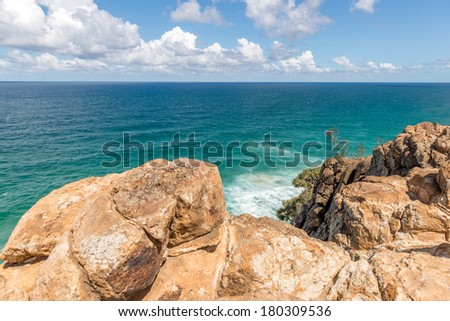 Indian Head, Fraser Island - Australia - stock photo