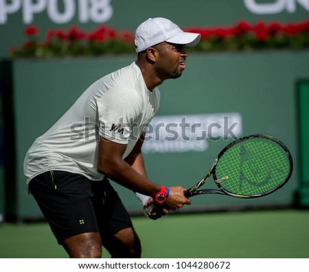 INDIAN INDIAN WELLS, CA - MAR 05-18:  Donal Young at the BNP PARIBAS OPEN Tennis Tournament in Indian Wells, CA on March 08, 2018