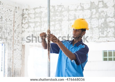 indian male plumber