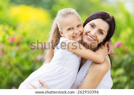 Indian, mother, sunlight. - stock photo