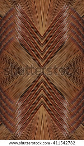Indian ornament - stock photo