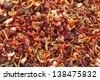 Indian paan - sweet and colourful indian chewing gum - stock photo
