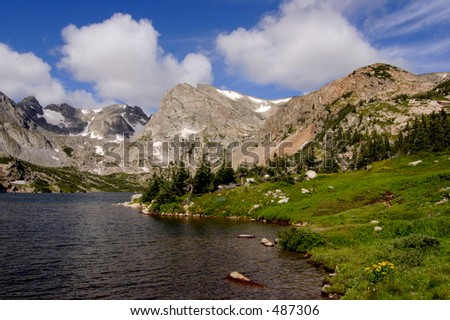 Indian Peaks, CO - stock photo