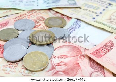 Indian Rupee - stock photo