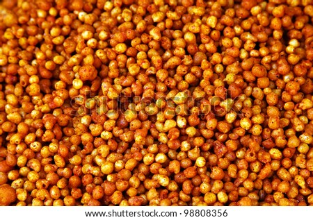 Indian street food - stock photo