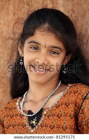 Indian teen beautiful teen girl - stock photo - stock-photo-indian-teen-beautiful-teen-girl-81295171