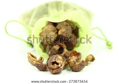 indian wash nuts - stock photo