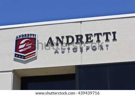 Indianapolis - CIrca June 2016: Andretti Autosport Headquarters. Andretti Autosport is a Racing Team I