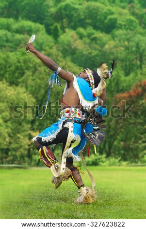 Indigenous Dancer Man