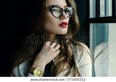 fashionable ladies glasses  Eyeglasses Stock Images, Royalty-Free Images \u0026 Vectors
