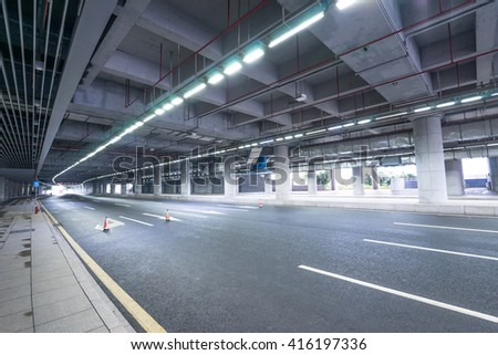 indoor road background