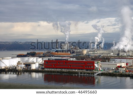 Industrial area NW. - stock photo