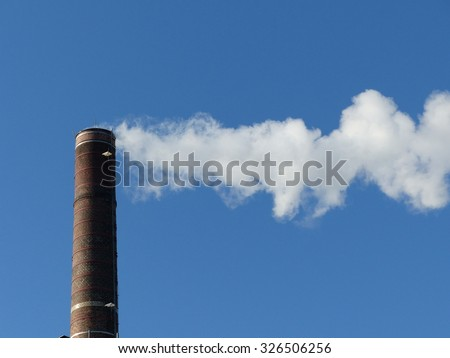 Industrial chimney Chemical Works Hannover