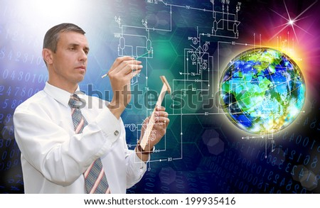 Industrial Designing Technology - stock photo