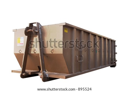 Industrial dumpster