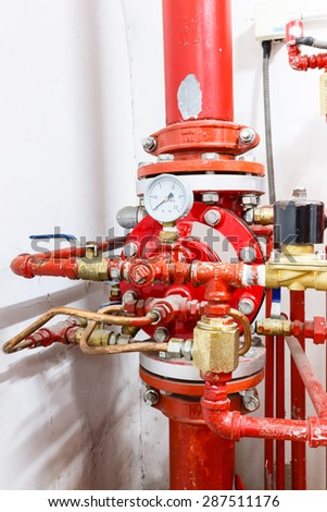 Industrial fire control system