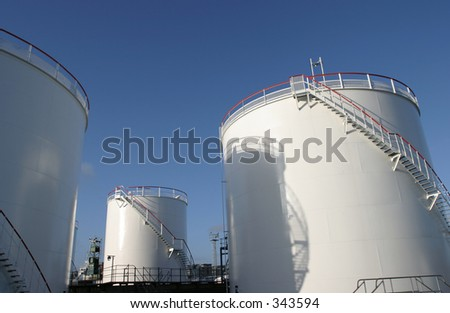 Industrial Fuel Storage at Port