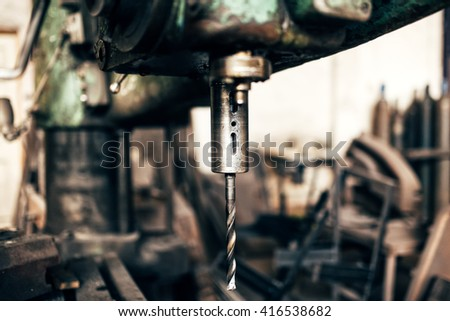 Industrial lathe, cnc metal milling machine