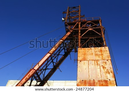 Industrial manufacturing - stock photo