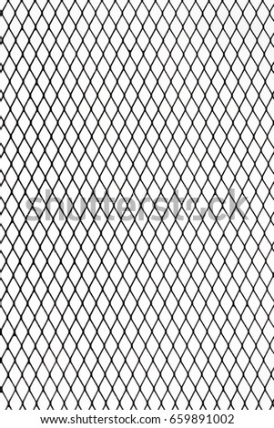 Industrial Metal Wire Net Fence Texture Stock Photo 659891002 ...