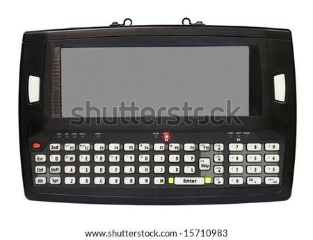 Industrial Mini Tablet Computer - stock photo