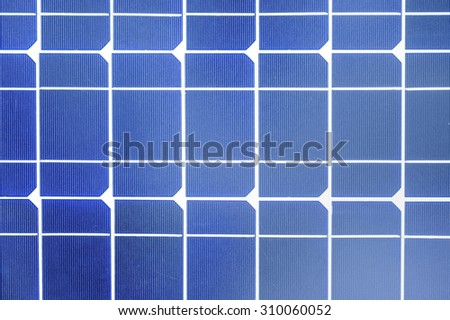 Industrial photovoltaic installation Solar power - stock photo
