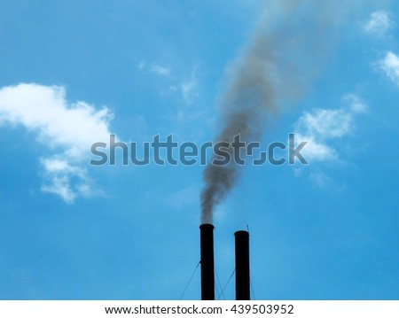 Industrial Pollution ,smoke