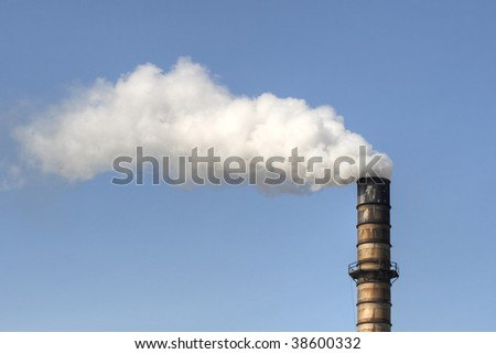 industrial smoke stack