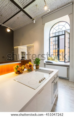 White Kitchen Exposed Brick exposed brick stock images, royalty-free images & vectors