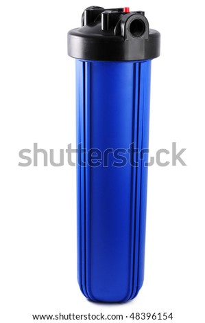 industrial water filter - stock photo