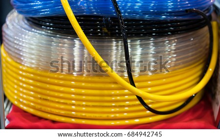 Industrial Wire Cable Make By Copper Stock Photo & Image (Royalty ...