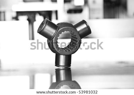 Industrial workpiece - stock photo