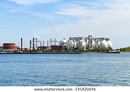 Industry in Boston - stock photo