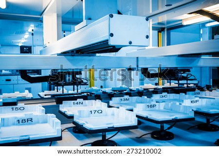 Industry, Technology, Borough Of Industry, Factory, Automated - stock photo