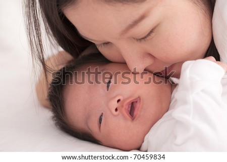 Infant - stock photo