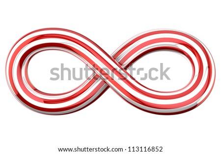 Infinity Symbol - stock photo