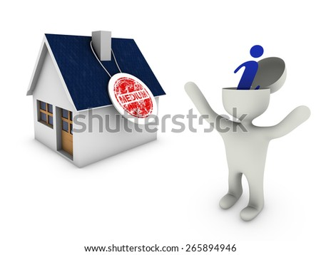 info home - stock photo