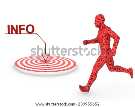 info objective  - stock photo